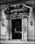 Entrance, 219 E. Lake Shore Drive, 1981, photo by Bob Thall