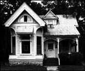 Eastlake style house, 1942 W. 102nd St., photo by Barbara Crane
