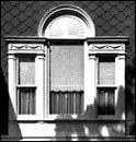 Window Detail, Horace Horton House, photo by Barbara Crane