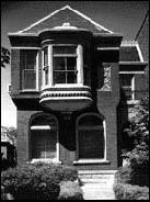 Queen Anne style private residence, photo by Barbara Crane