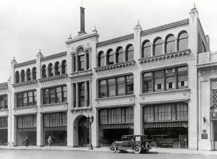 Hudson Motor Car Co. Showroom, photo 1922