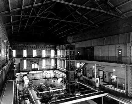 Pumping Station interior, photo by Bob Thall