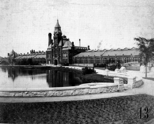 Factory and Administration Building, circa 1890