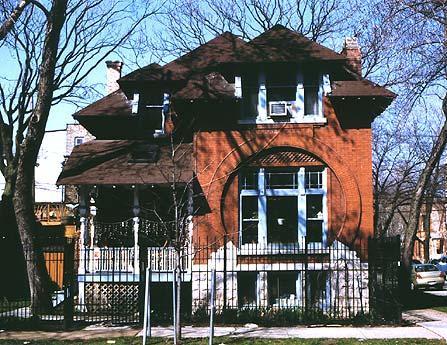 1124 N. Damen Avenue, photo by CCL, 2002