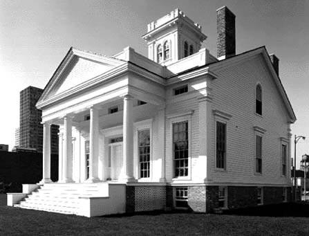 Clarke House, photo by Bob Thall