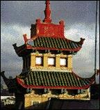 On Leong Merchants; Pagoda tower, photo by Johnson Lasky Architects