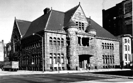 Former Chicago Historical Society; View from southeast, by HABS