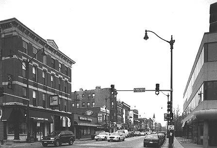 Streetscape, 2000-block N. Halsted St., photo by Terry Tatum, 2001
