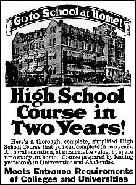 Advertisment, 1917