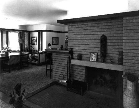 Interior, photo by Barbara Crane