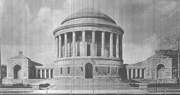 Elks Memorial, photo c.1926