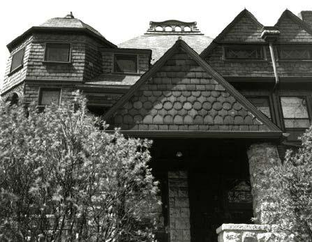 Detail of Roofline, Photo by Bob Thall, 1998