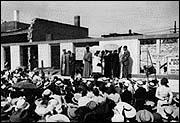 Cornerstone ceremony, 1939