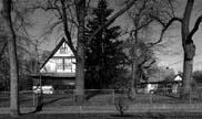 House and Stable, 1996, photo by Bob Thall