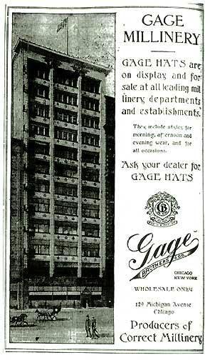 Advertisement, Chicago Sunday Tribune, Feb.7, 1909
