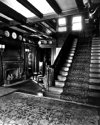 Main Stairwell, circa 1890