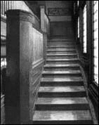 Main Staircase, 1965, photo by HABS