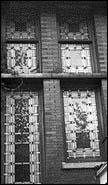 Stained Glass Windows, 1972, photo by Barbara Crane