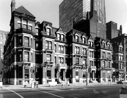 Chicago Avenue facade