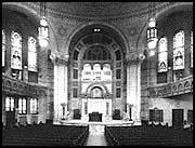 Interior Column Capital, photo by Barbara Crane