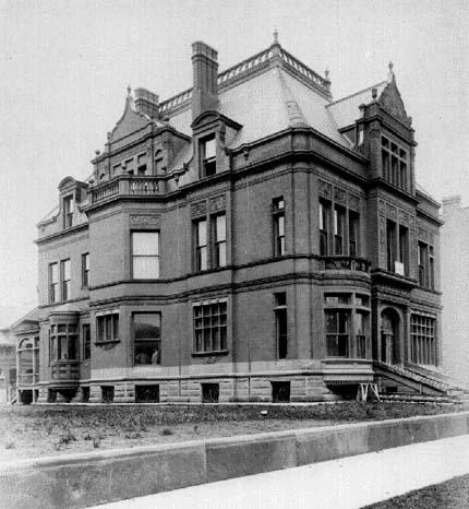 Exterior circa 1885, by J.W. Taylor