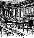Dining Room, circa 1885