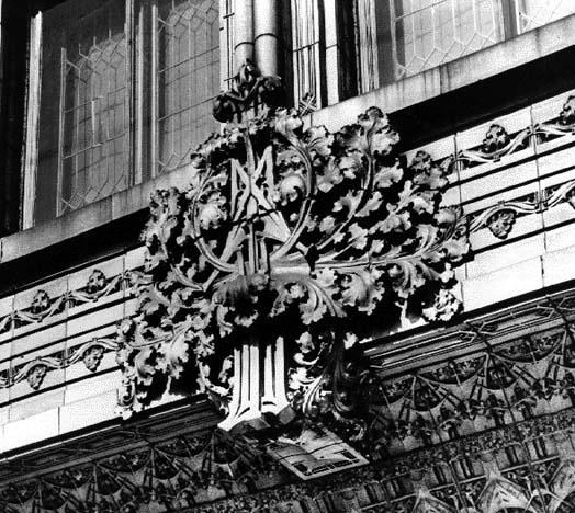 Terra Cotta Detail, 1974, photo by Ralph Line
