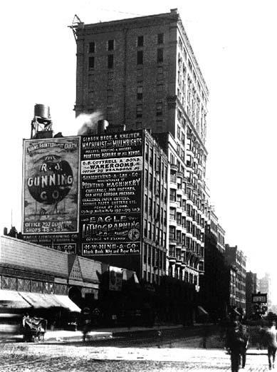View, circa 1892