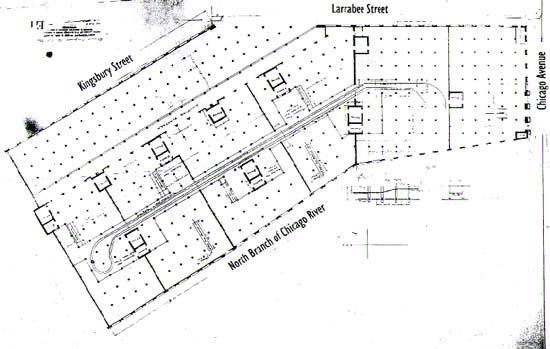 Floor plan, 1907