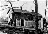 O'Leary Cottage after the Fire, 1871