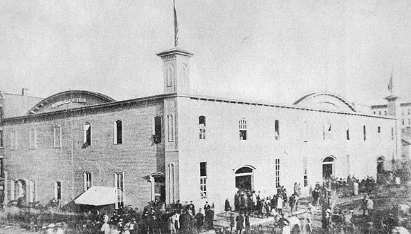 Wigwam Building, 1860