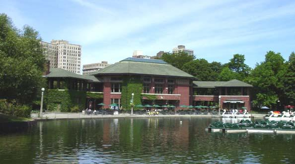South Pond Refectory, photo by Terry Tatum, 2001
