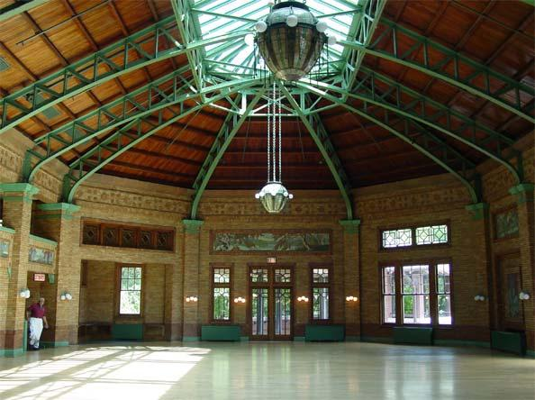 Great Hall, photo by Terry Tatum, 2001