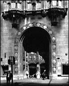 Entrance Detail, photo by Bob Thall