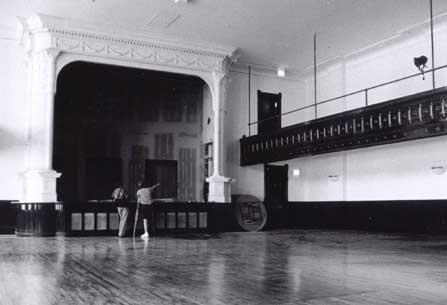 Theater interior, photo by Terry Tatum