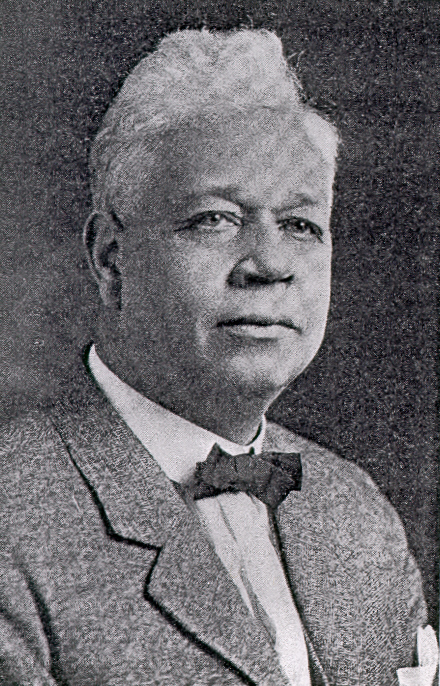 Oscar Stanton DePriest, from <I>Who's Who in Colored America<I/>, 1928