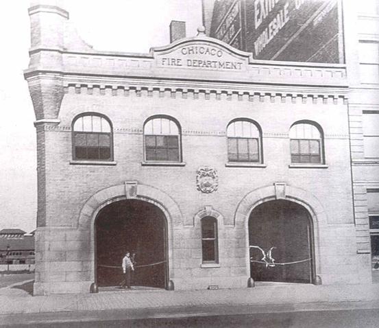 Historic exterior view, 1912