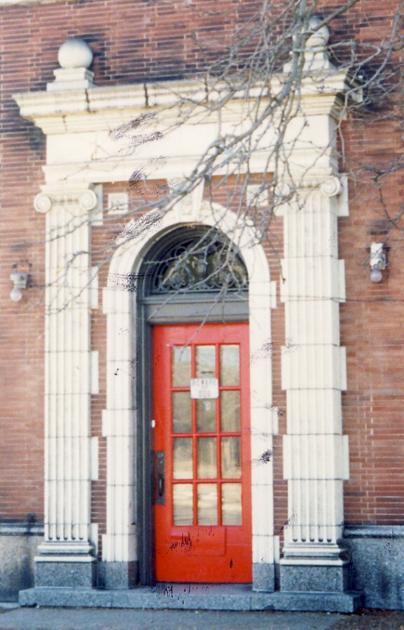 Doorway detail, CCL, 2003