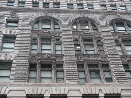 Wabash Avenue building detail, photo by Susan Perry, CCL, 2007