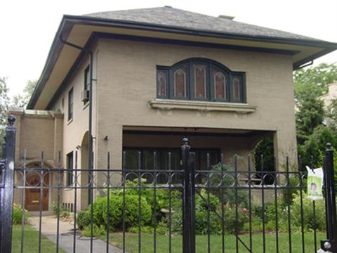 Rath House, 2703 W. Logan Blvd., photo by CCL, 2004