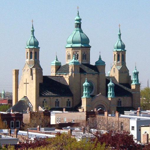 St. Nicholas Ukrainian Catholic Cathedral, photo by Matt Crawford, CCL, 2006