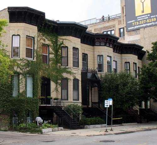 Lincoln Avenue Row House District