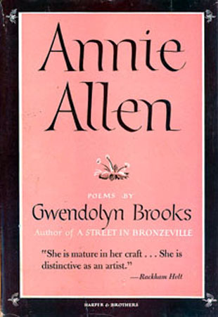 Cover of Annie Allen, published 1949
