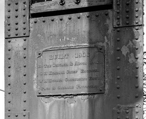 Builder's Plate_Historic American Engineering Record