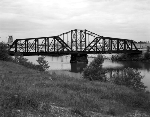 Illinois Central Railroad Swing Bridge 1, Historic American Engineering Record