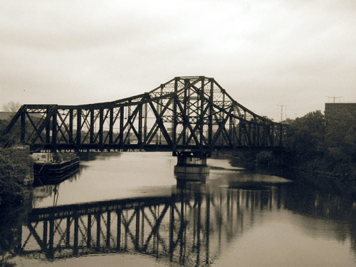 Illinois Central Railroad Swing Bridge 2