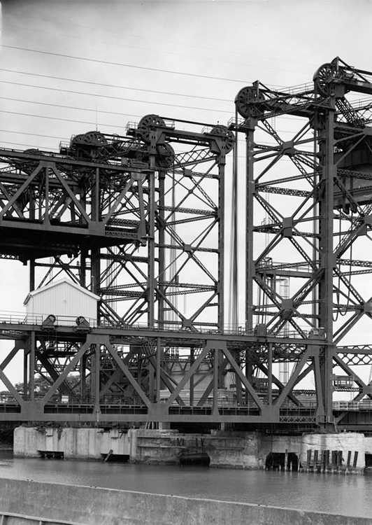 Tower detail, Historic American Engineering Record