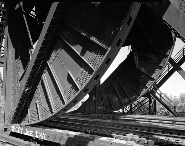 Rocker detail, Historic American Engineering Record