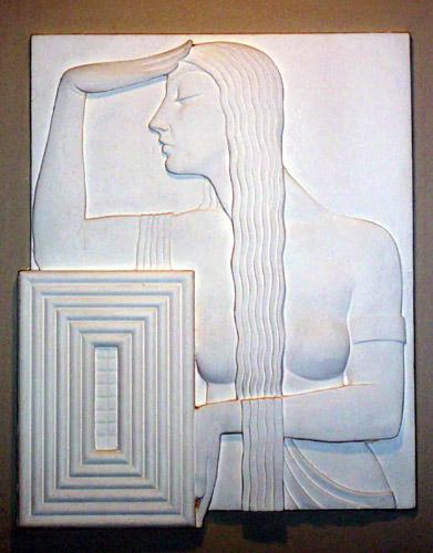Edgar Miller-designed sculpture