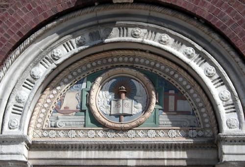 Ornamental terra cotta detail